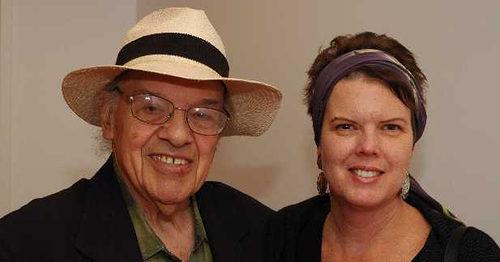 Gerald Stern and Anne Marie Macari